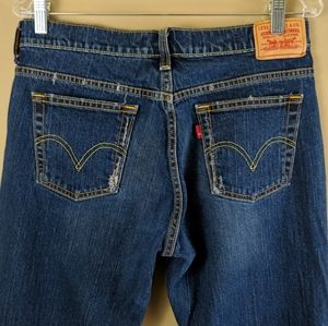 Levis 515 Boot Cut Jeans Medium Wash Sz 10